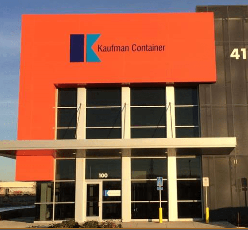 2015 kaufman container relocates its minneapolis branch to a new 50m square foot building in fridley minnesota mn warehouse2
