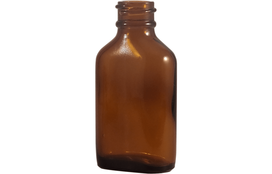 1 oz Amber Glass Bottle, 1 oz Bottles, Glass Bottles for Essential Oils, Century Oval