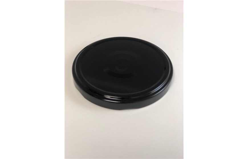 Metal Lug Caps, 82 mm Metal Caps, Black Metal Lids