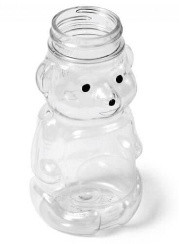 Honey Bear Bottles - 32 oz Clear Plastic Bottle | Kaufman